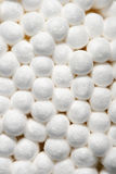 Cotton swab ends macro Royalty Free Stock Image