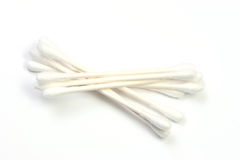 Cotton swabs Royalty Free Stock Photography