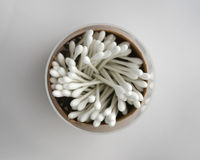 Cotton swabs Stock Photography