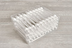 Cotton swabs Royalty Free Stock Photos