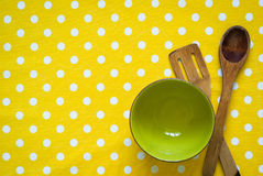 Cotton tablecloth Royalty Free Stock Photography