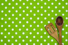 Cotton tablecloth Stock Image