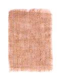 Cotton textile burlap isolated Stock Photos