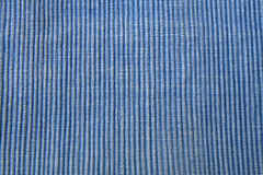 Cotton texture. 3d texture, vertical line, blue cotton texture Royalty Free Stock Photography
