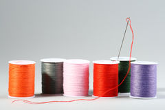 Cotton thread Stock Images