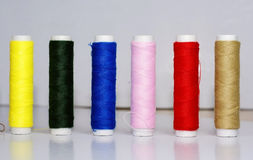 Cotton thread Royalty Free Stock Photo