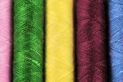 Cotton thread background Stock Photography