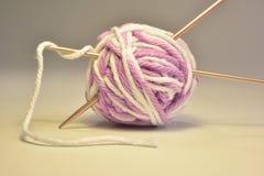 Cotton thread for knitting Stock Photos