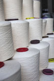 Cotton thread reel Stock Image