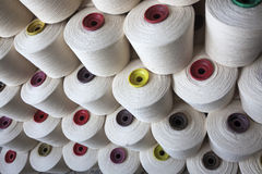 Cotton thread reel Royalty Free Stock Photos