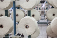 Cotton thread reel Stock Photos