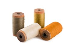Cotton threads Stock Image