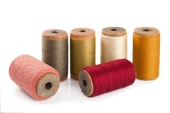 Cotton threads Royalty Free Stock Images