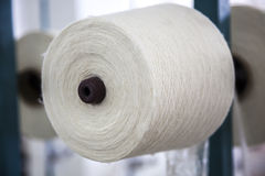 Cotton threads  reel Stock Photo