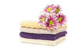 Cotton towels Royalty Free Stock Images