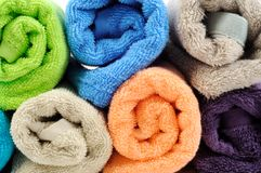 Cotton towels Stock Photography