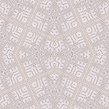 Cotton white crochet background, backdrop for scrapbook, top view. Collage mirror reflection. Seamless kaleidoscope montage for cu. Cotton white crochet royalty free illustration