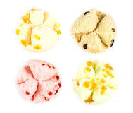 Cotton wool cup cake Stock Photography