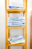 Cotton wool hand towel Stock Photography