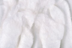 Cotton wool texture Royalty Free Stock Photography