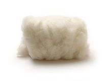 Cotton wool Royalty Free Stock Photos