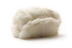 Cotton wool Stock Photo