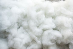 Cotton wool white soft texture detail clean concept Stock Image