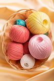 Cotton yarn Stock Photography