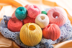 Cotton yarn Stock Image