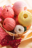 Cotton yarn Royalty Free Stock Images