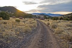 Cottonwood Canyon Road Imagens de Stock Royalty Free