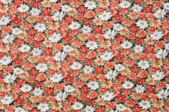 Cottonwood Close Up Antique Floral Fabric. Royalty Free Stock Images
