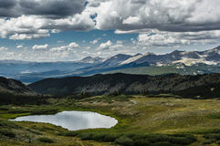 Cottonwood Pass, Colorado Continental Divide Royalty Free Stock Images