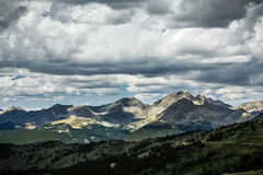 Cottonwood Pass, Colorado Continental Divide royalty free stock image