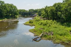 Cottonwood River Royalty Free Stock Photography
