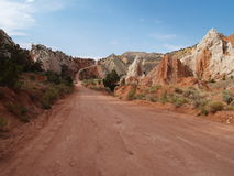Cottonwood Road. Cottonwood Canyon Road in Grand Staircase National Monument (Utah stock photos