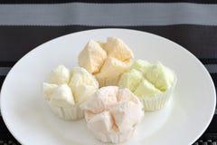 Cottonwool κέικ Στοκ εικόνα με δικαίωμα ελεύθερης χρήσης
