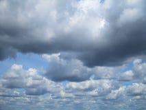 Cottonwool niebo Zdjęcie Royalty Free
