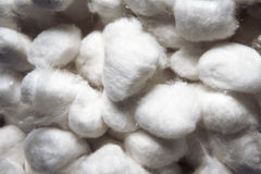 Cottonwool piłki Fotografia Stock