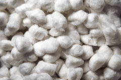 Cottonwool piłki Obrazy Stock