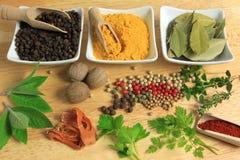 Cottura degli ingredienti Immagini Stock Libere da Diritti