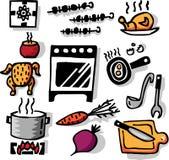 Cottura degli oggetti royalty illustrazione gratis