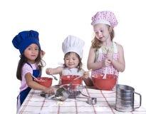 Cottura dei bambini Fotografia Stock