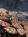 Cottura del BBQ Fotografie Stock
