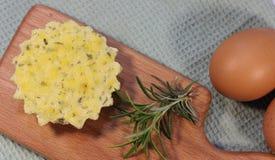Cottura del formaggio Immagine Stock