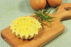 Cottura del formaggio Fotografie Stock Libere da Diritti