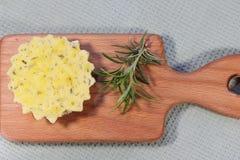 Cottura del formaggio Immagini Stock