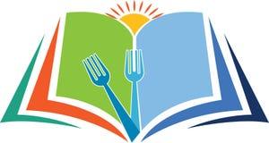 Cottura del logo di istruzione Fotografia Stock