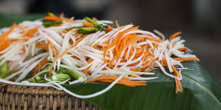Cottura del riso Immagini Stock