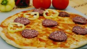 Cottura della pizza archivi video